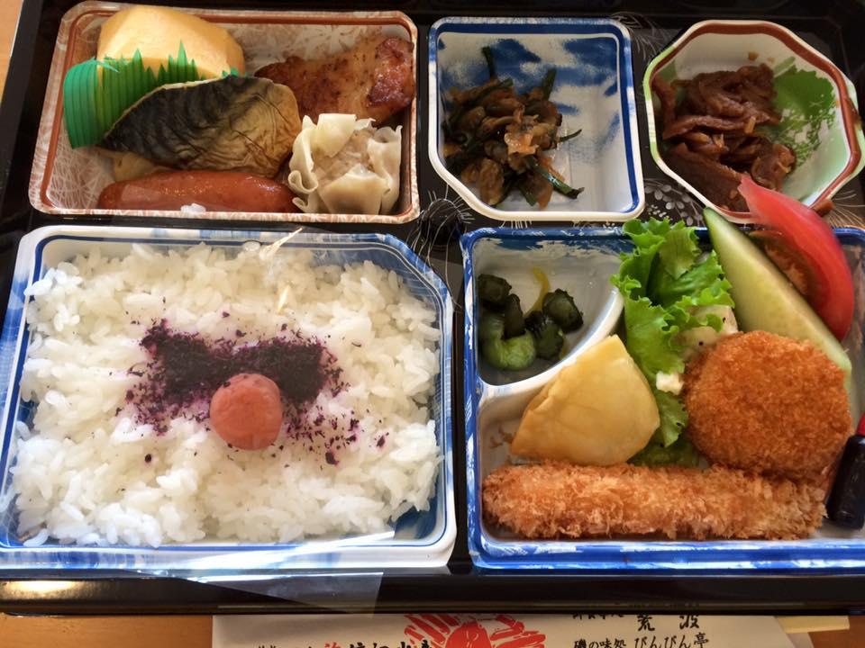 渡辺水産お弁当