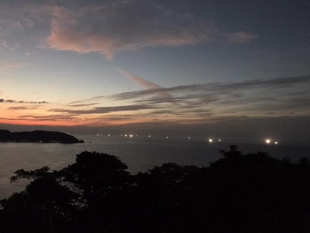 星取県岩美町の星空&漁火ウォークのガイド