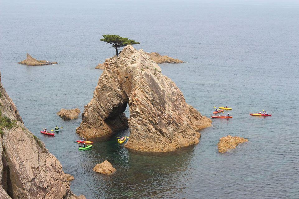 千貫松島カヌー