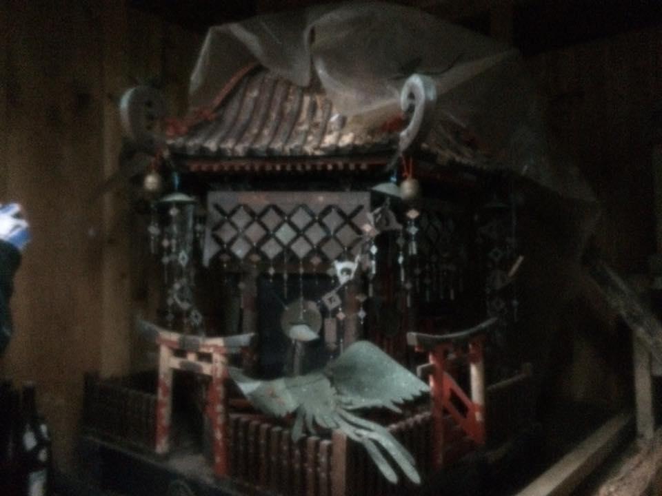 田河内神社神輿