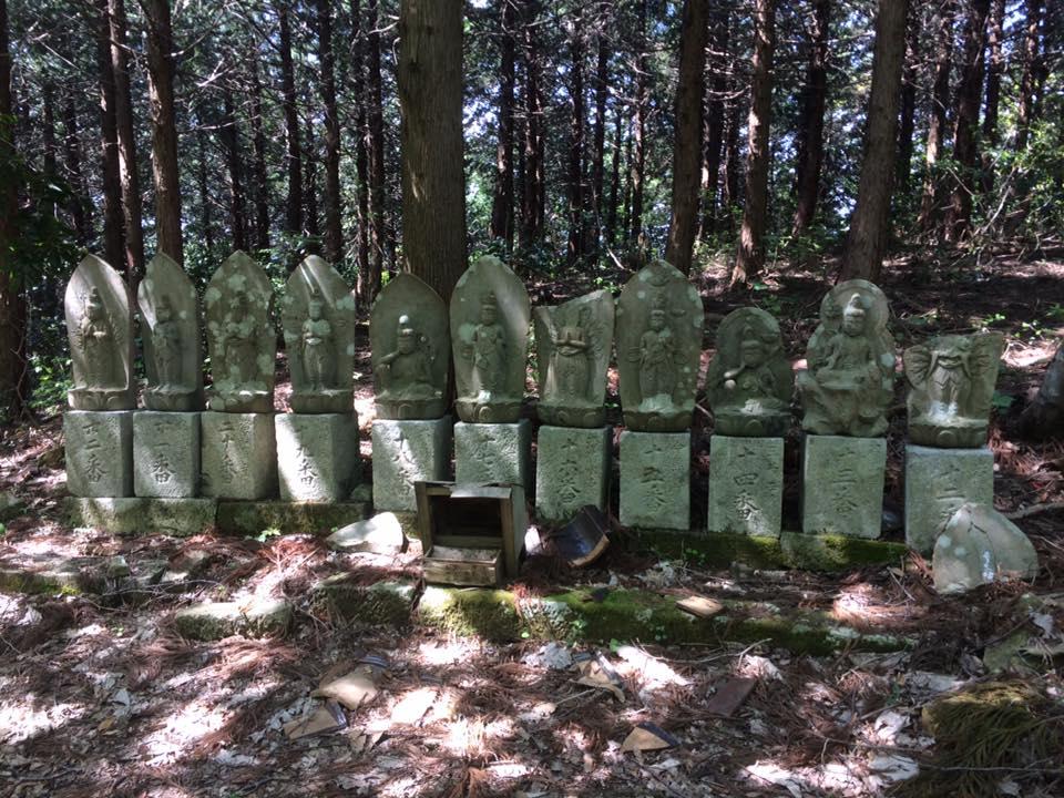 中国三十三観音霊場の観音様石像33体掲載しました。