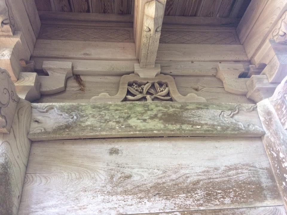 摩尼寺の仁王門