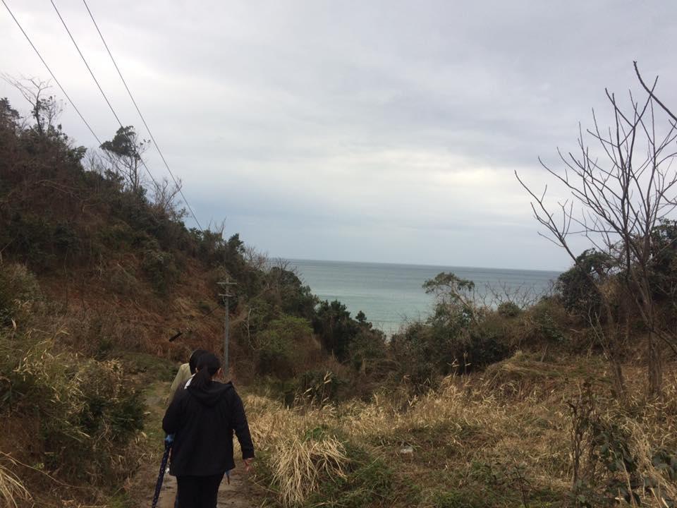 岩美町熊井浜にある、鴎鳴荘