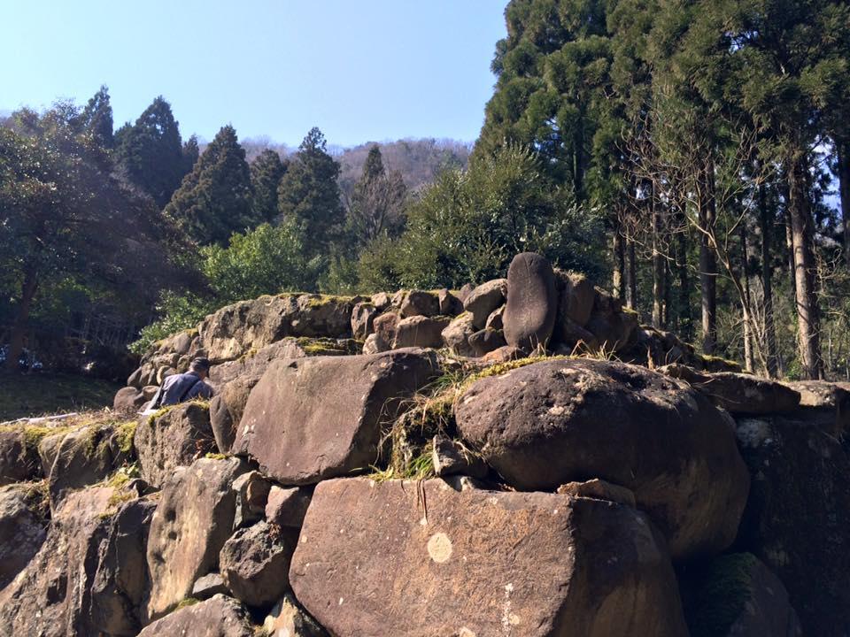 岩美町にある二上山・高野坂古墳後編を見学