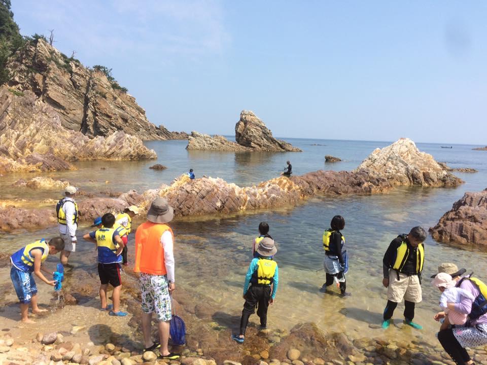 岩美町のSUPカヤック・カヤック・サーフィンなど海のアクティビティー