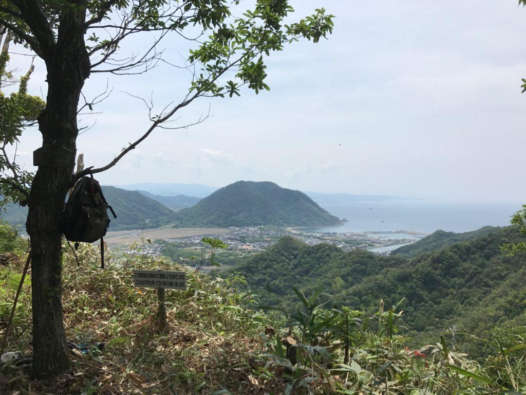 岩美町と鳥取市の境にある駟馳山と山頂登山の思い出