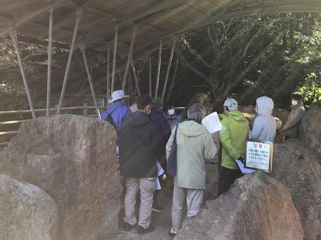 岩美町小畑古墳群と高野坂古墳群について学びました