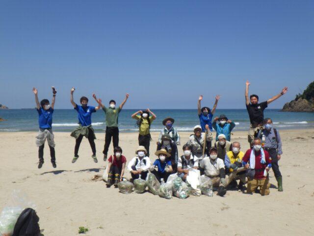 第7回オカヒジキ戻ってこいこいプロジェクトin熊井浜開催